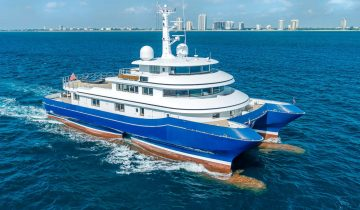 SILVER CLOUD yacht Charter Price