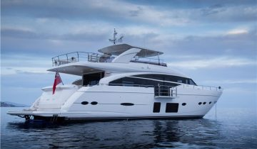 MINX yacht Charter Price
