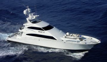 MARY P yacht Charter Price