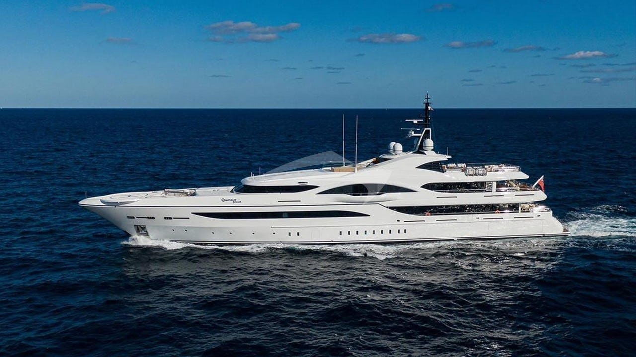 QUANTUM OF SOLACE yacht Charter Brochure