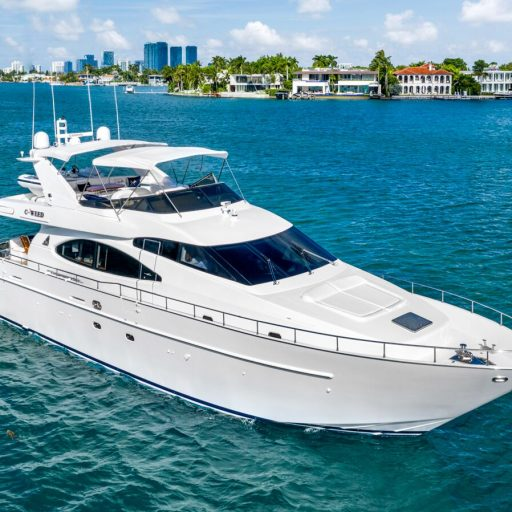 C-WEED yacht 70 foot Azimut for sale with Merle Wood & Associates