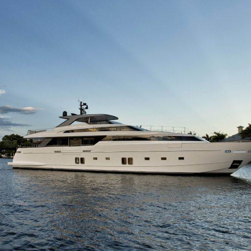 Sanlorenzo SL118 #628 yacht Charter Price