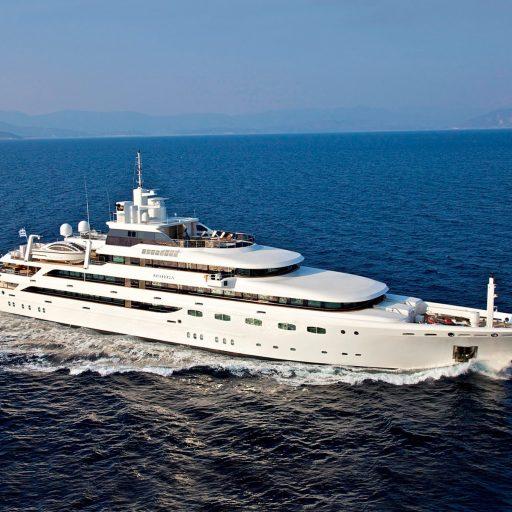 O'MEGA yacht Charter Price