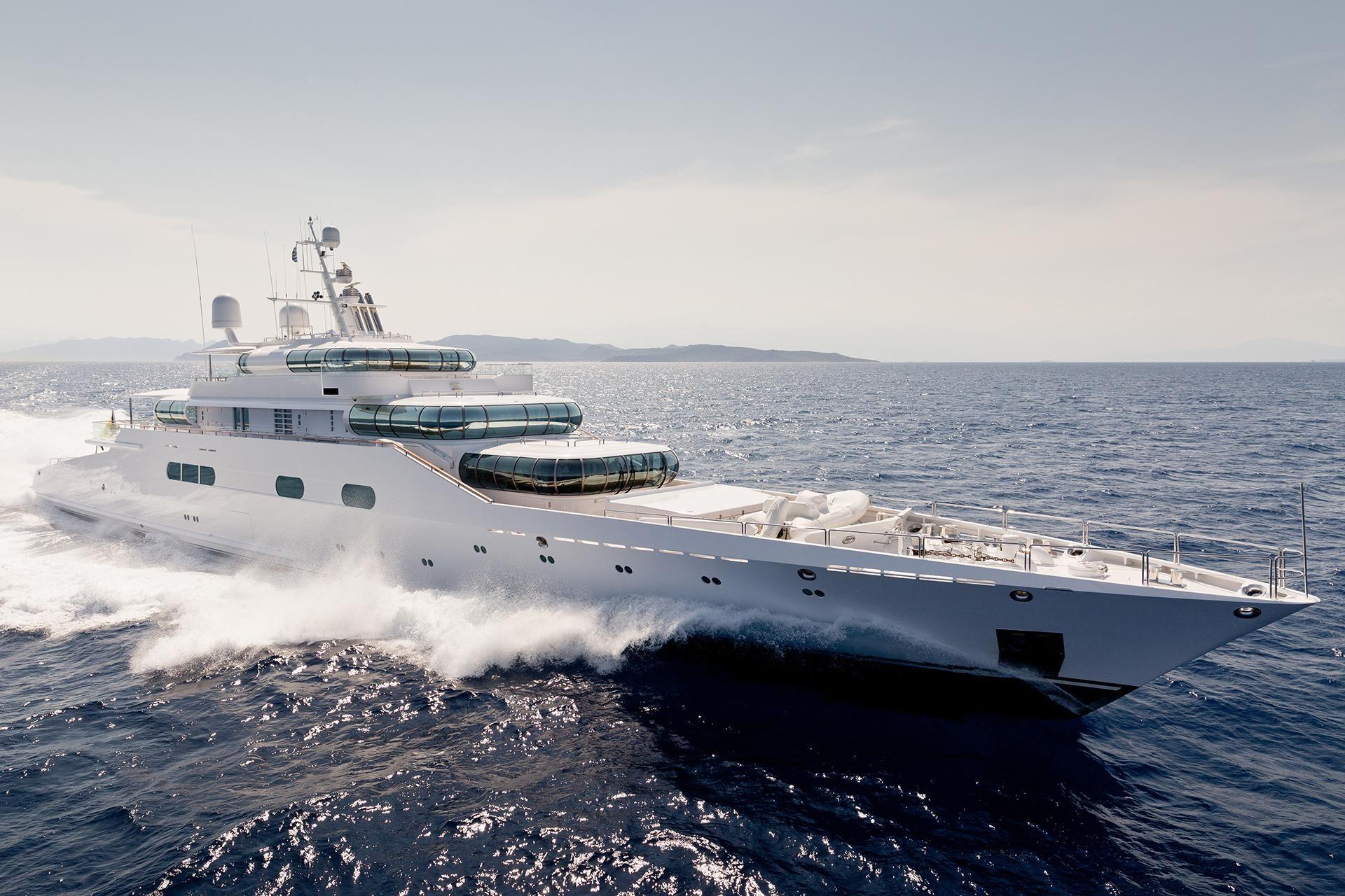 ENIGMA yacht Charter Brochure