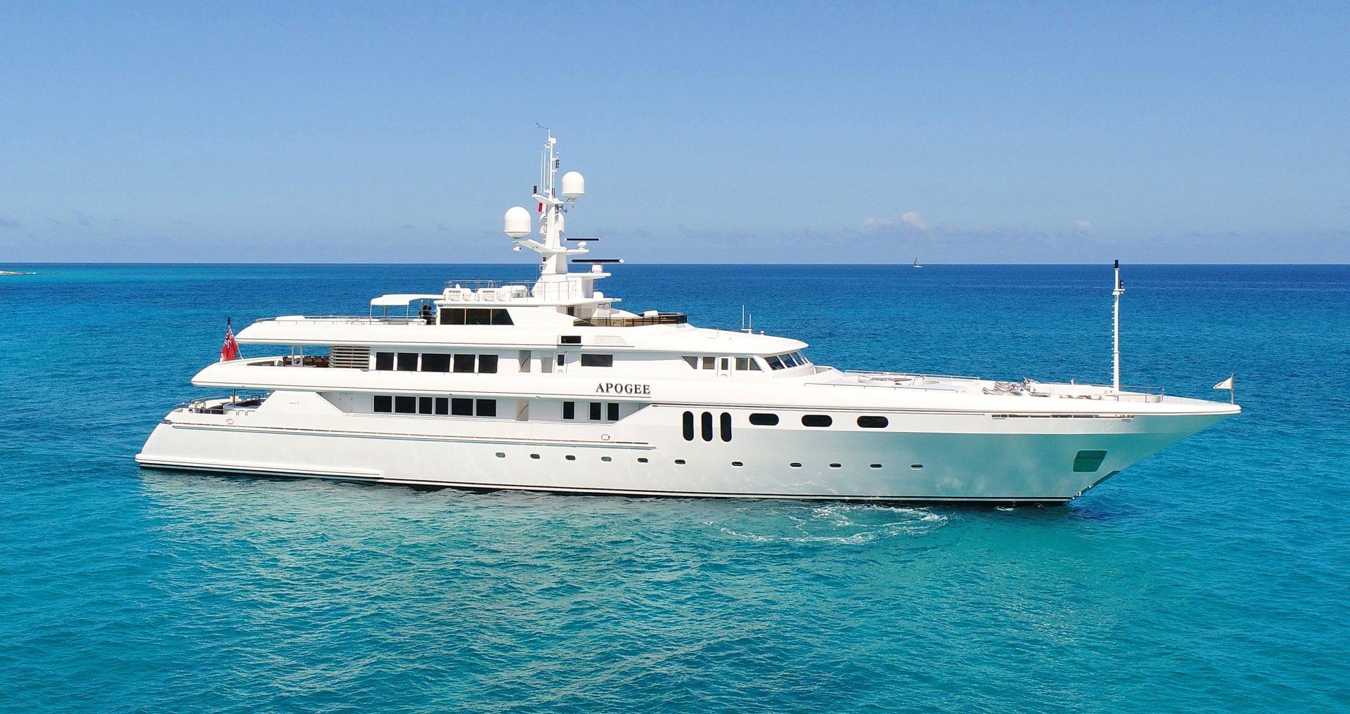 APOGEE yacht Charter Brochure