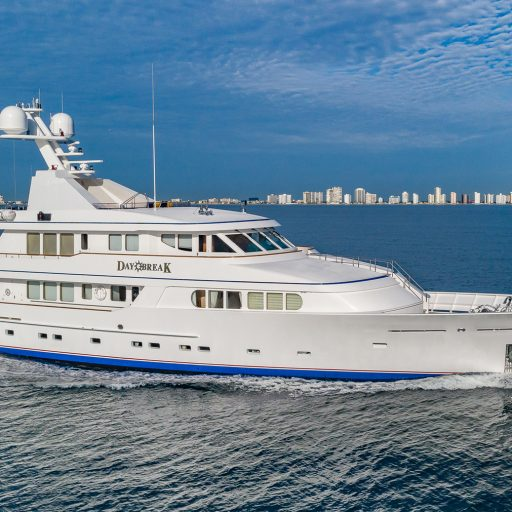 DAYBREAK yacht Charter Price