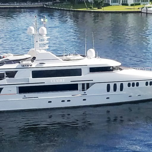 CLAIRE yacht