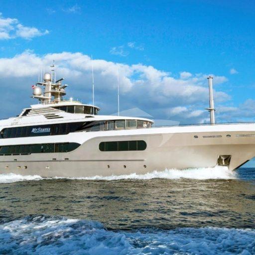 MY SEANNA yacht Charter Price