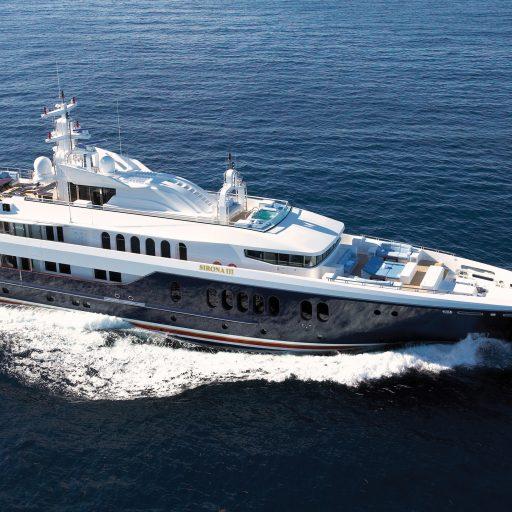 SIRONA III yacht Charter Price