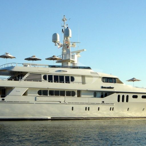 INVADER yacht Charter Price