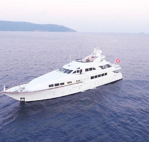 DESTINY yacht Charter Price