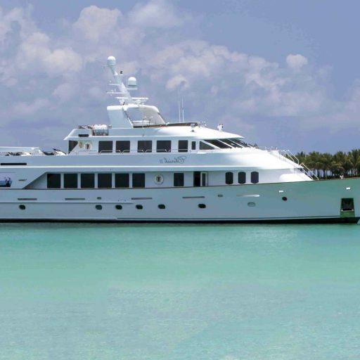 CHERISH II yacht sale interior tour