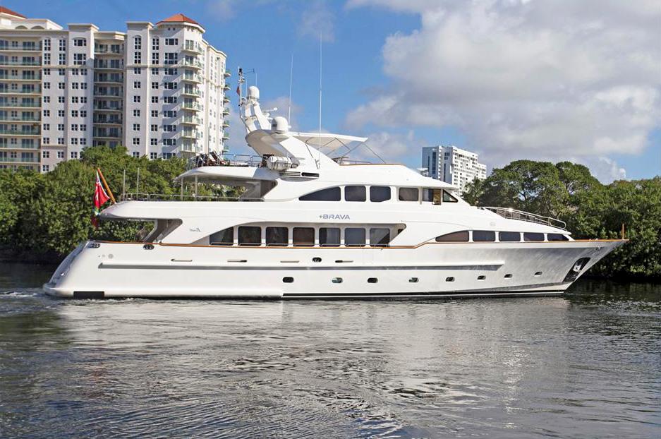 +BRAVA yacht Brochure