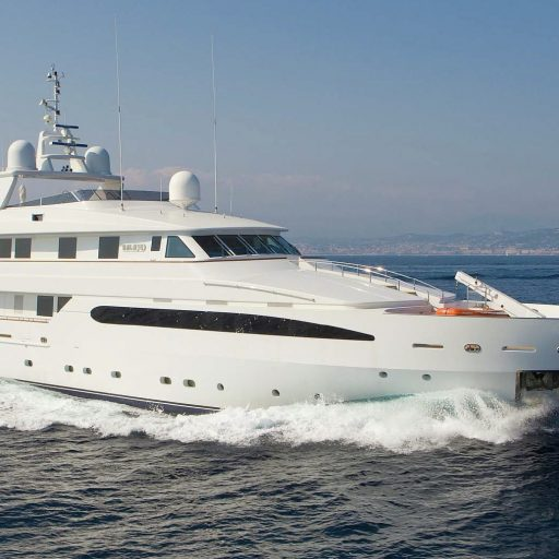 BALAJU 146-foot Intermarine luxury superyacht for sale with Merle Wood & Associates
