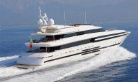 Balista 153-foot Cantieri di Pisa luxury Italian superyacht