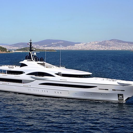 QUANTUM OF SOLACE yacht
