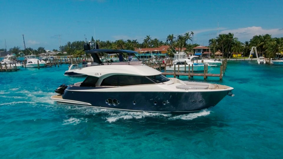 BANKSEA ex BOWER Monte Carlo 65-foot luxury yacht sold by Merle Wood & Associates