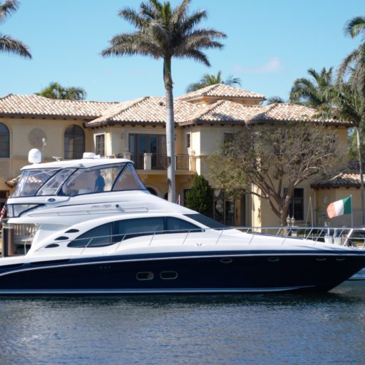 SWEET MELISSA 55-foot Sea Ray luxury yacht for sale with Merle Wood & Associates
