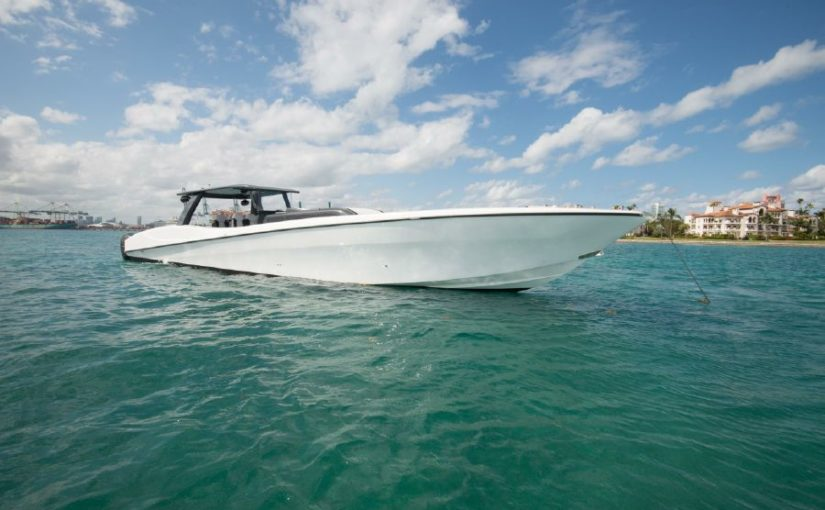 Custom CSR Powerboat V53 yacht For Sale