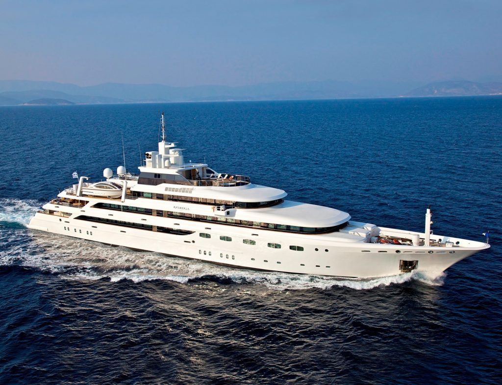 O'MEGA yacht Brochure