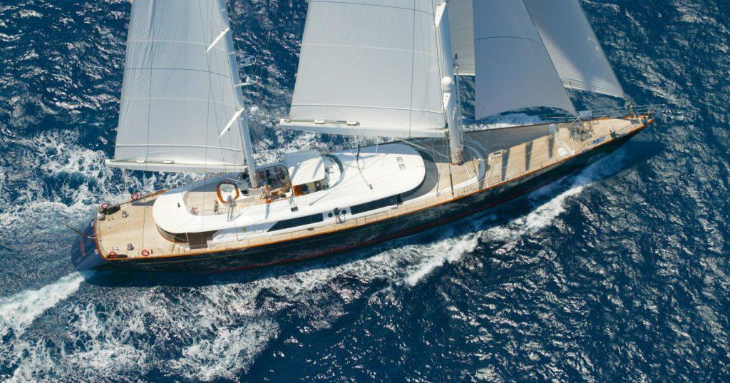 SY BURRASCA yacht Brochure