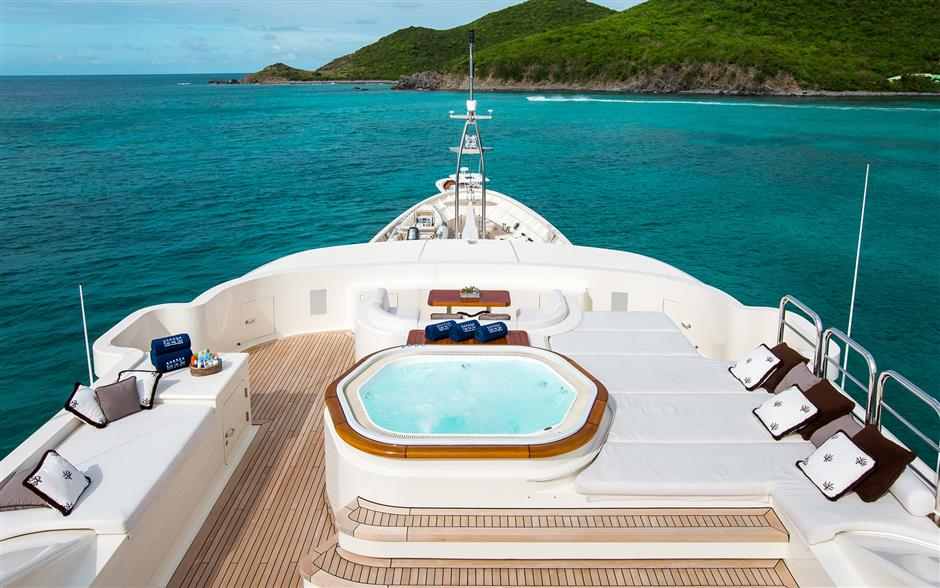 KISS THE SKY yacht