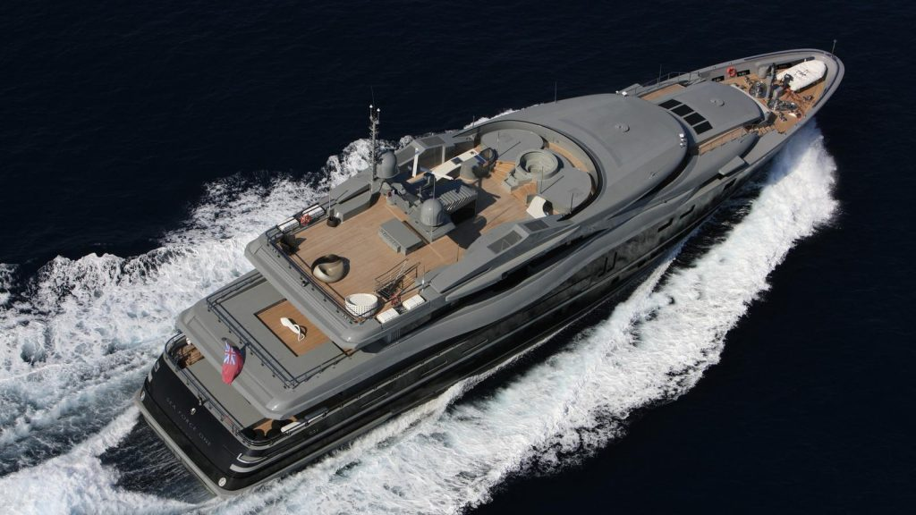SEA FORCE ONE yacht