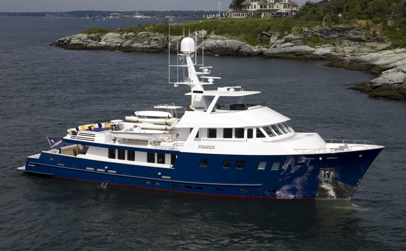 STAMPEDE yacht For Sale