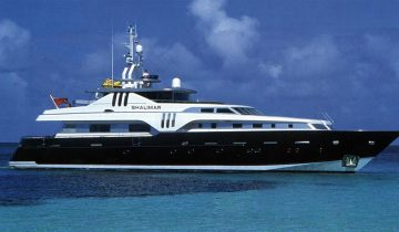 shalimar yacht for sale and charter