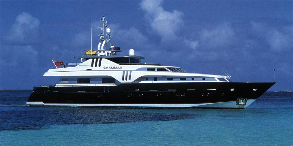 SHALIMAR yacht Brochure