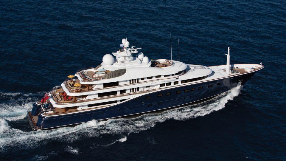 AQUILA YACHT FOR SALE - DERECKTOR SHIPYARDS LUXURY YACHT