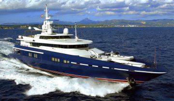 OCEAN SEVEN yacht Price