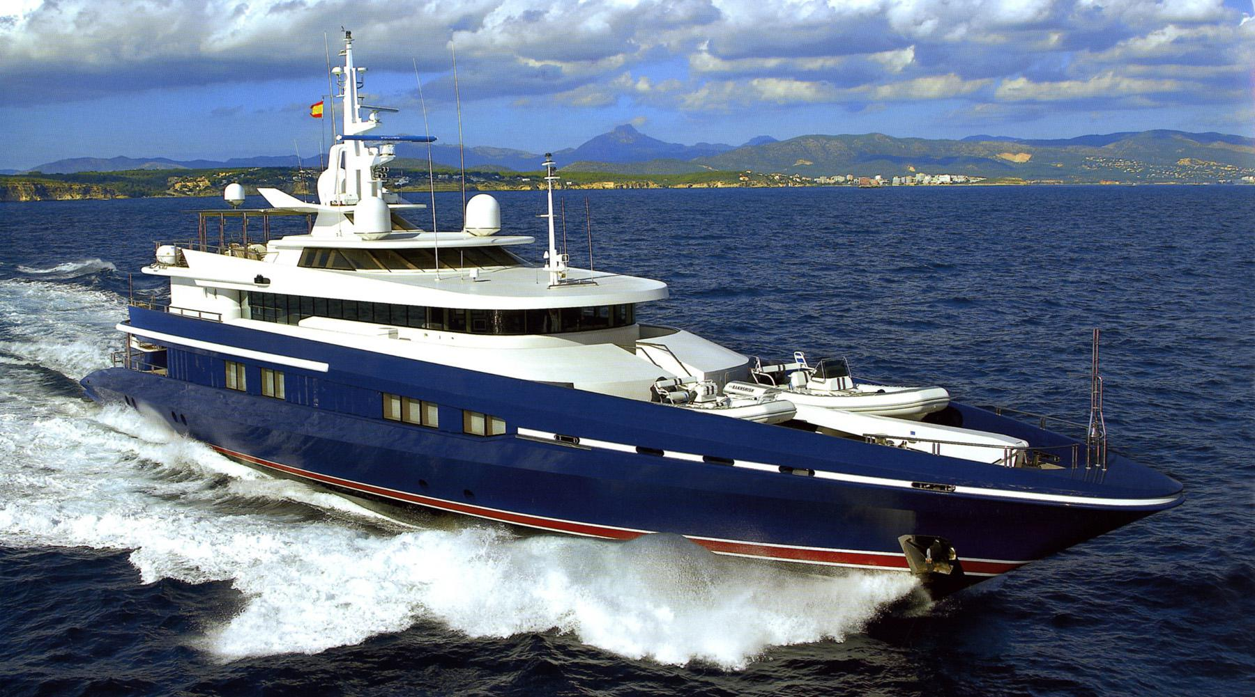 OCEAN SEVEN specs with detailed specification and builder summary