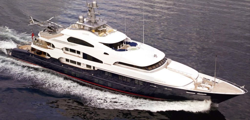 ATTESSA III yacht Brochure