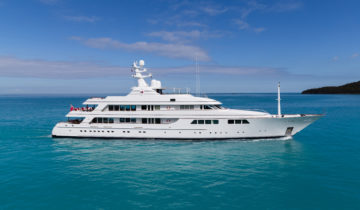 FLAG 204-foot Feadship luxury superyacht for sale with Merle Wood & Associates