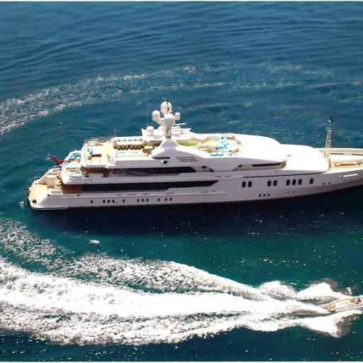 MARIA Yacht Position