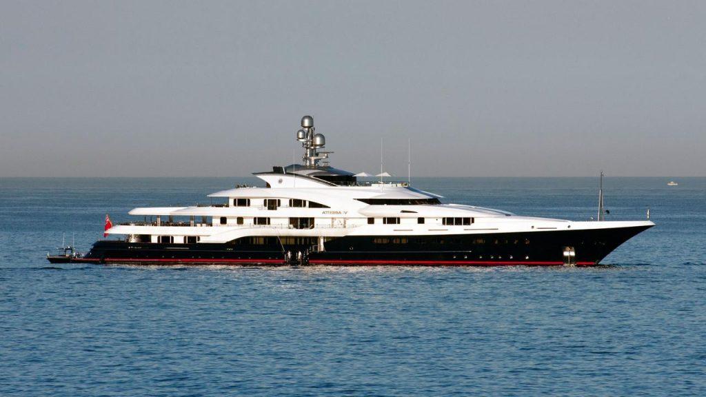 ATTESSA IV yacht Brochure