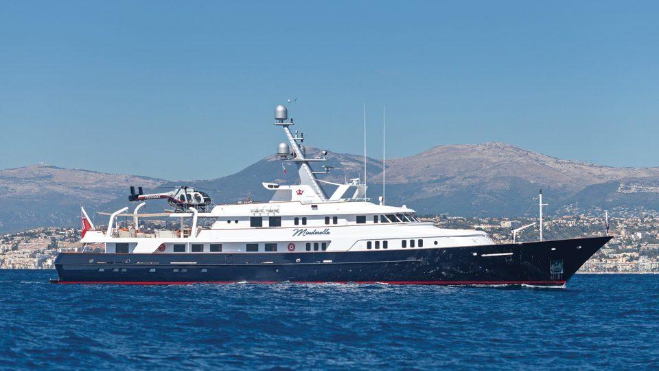 MINDERELLA Feadship 188-foot yacht