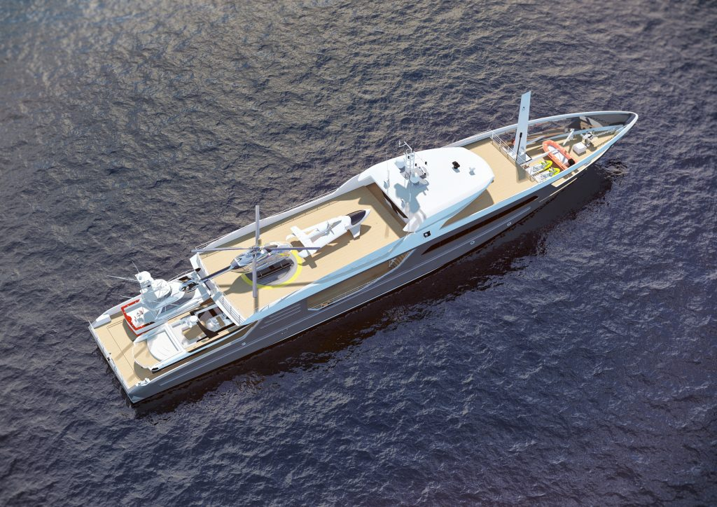 THE ULTIMATE SHADOW VESSEL yacht