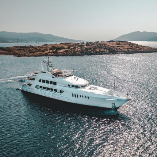 MUSTIQUE yacht sale interior tour
