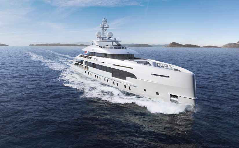 Heesen 5000 Hybrid 18650 yacht For Sale