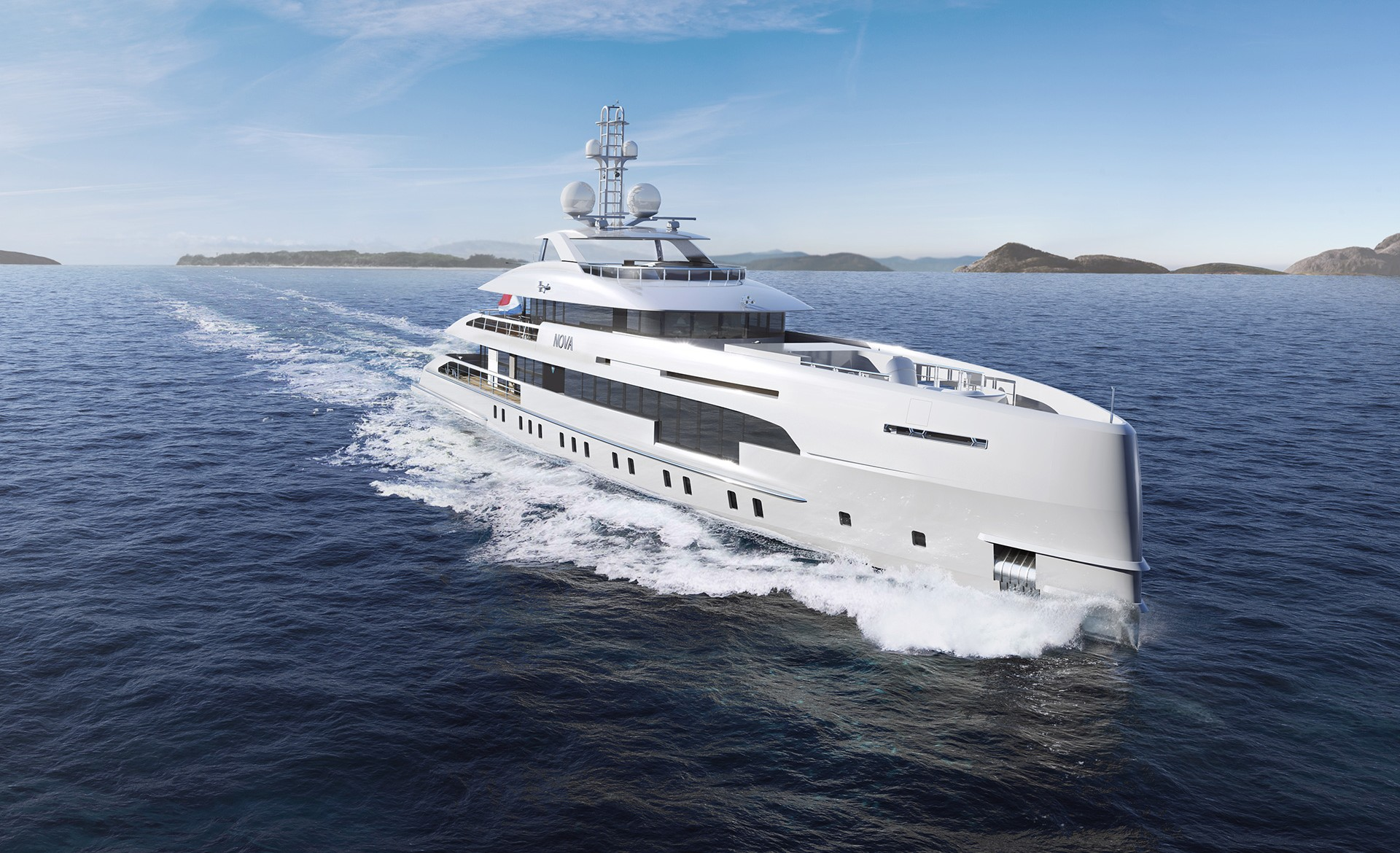 Heesen 5000 Hybrid 18650 specs with detailed specification and builder summary
