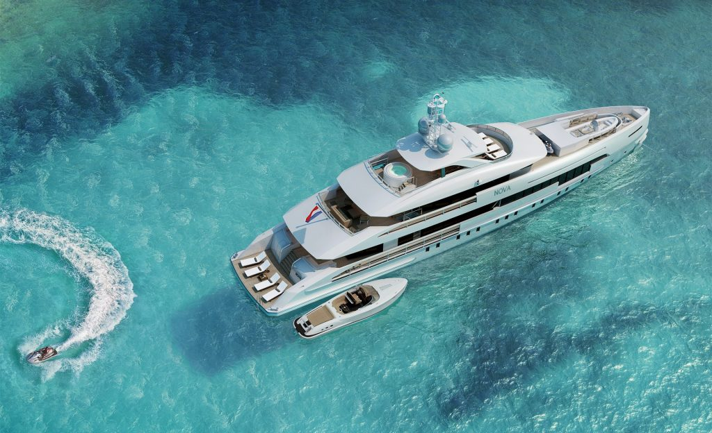 Heesen 5000 Hybrid 18650 yacht