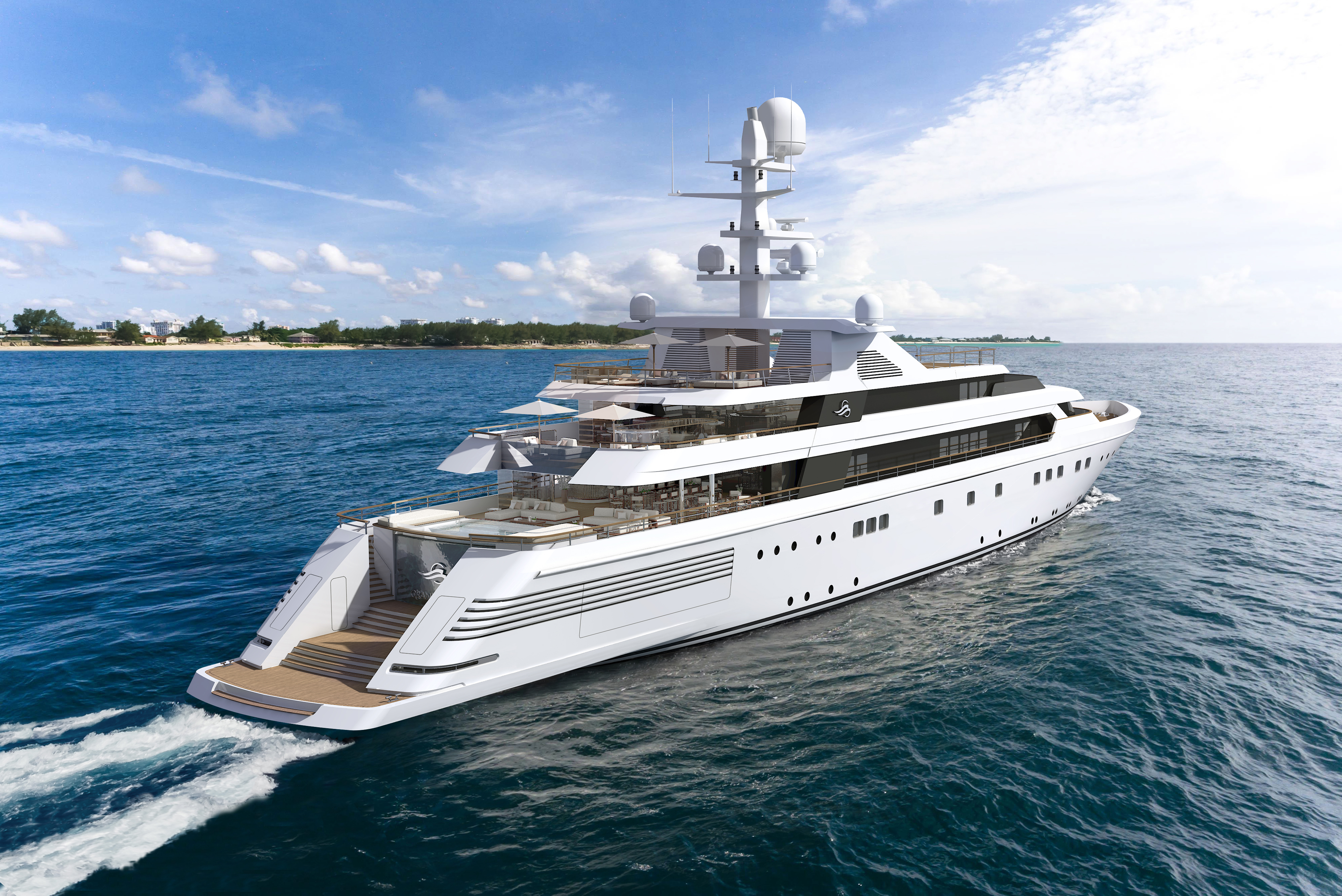 GRAND OCEAN specs with detailed specification and builder summary