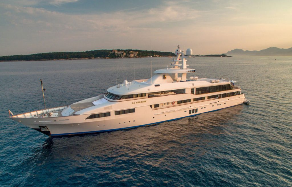 LE PHARAON yacht Brochure