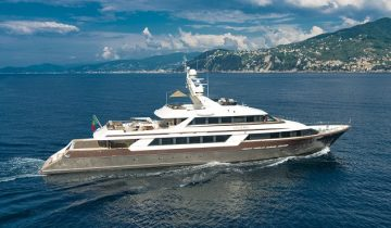 CLOUD ATLAS yacht