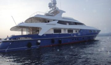 Blue East yacht