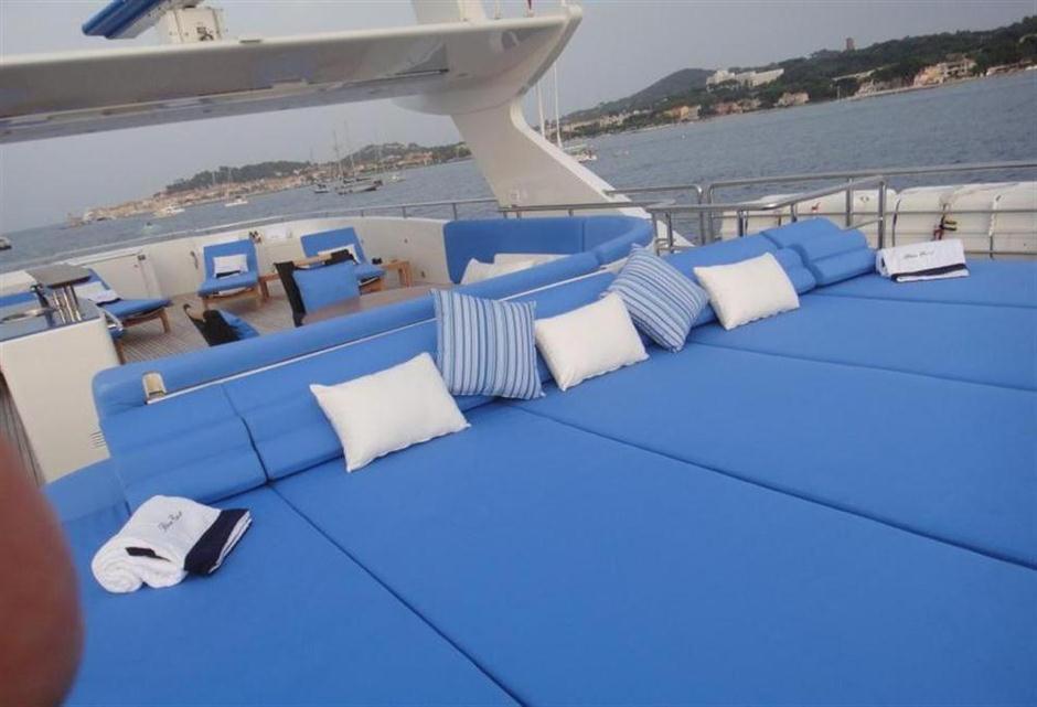 Blue East yacht
