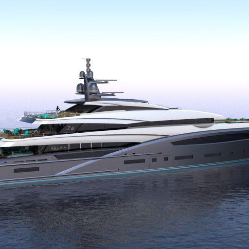 AQUILA 75M yacht Nearby