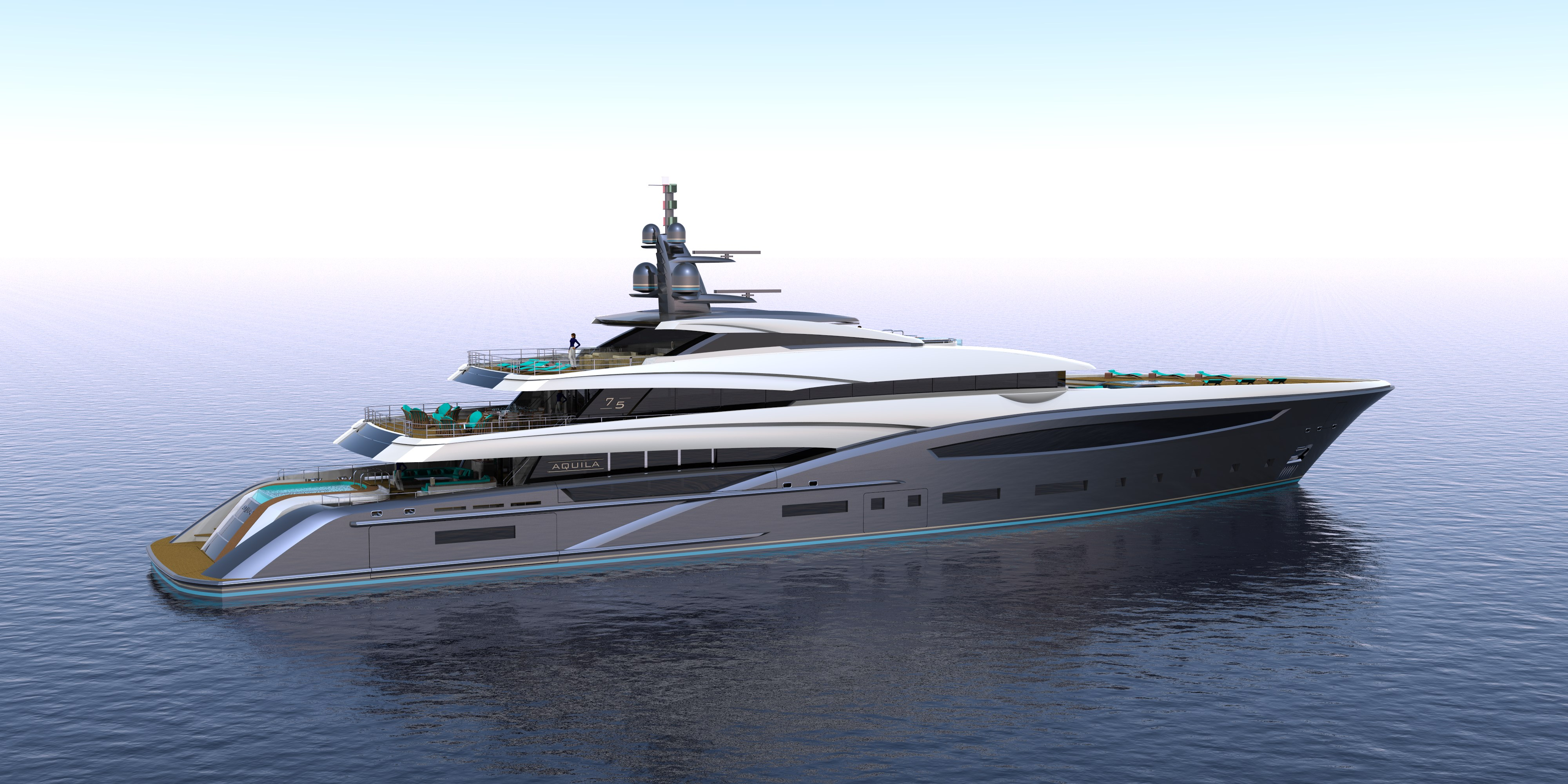 AQUILA 75M specs with detailed specification and builder summary